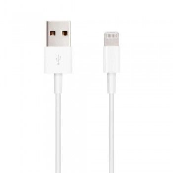 CABLE LIGHTNING IPHONE A USB 2.0, IPHONE LIGHTNING-USB A/M, 1.0 M