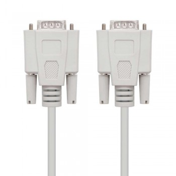 CABLE SERIE RS232, DB9/M-DB9/M, 3.0 M