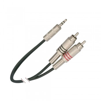 CABLE AUDIO 2 RCA  A MINI-JACK STEREO 3 M