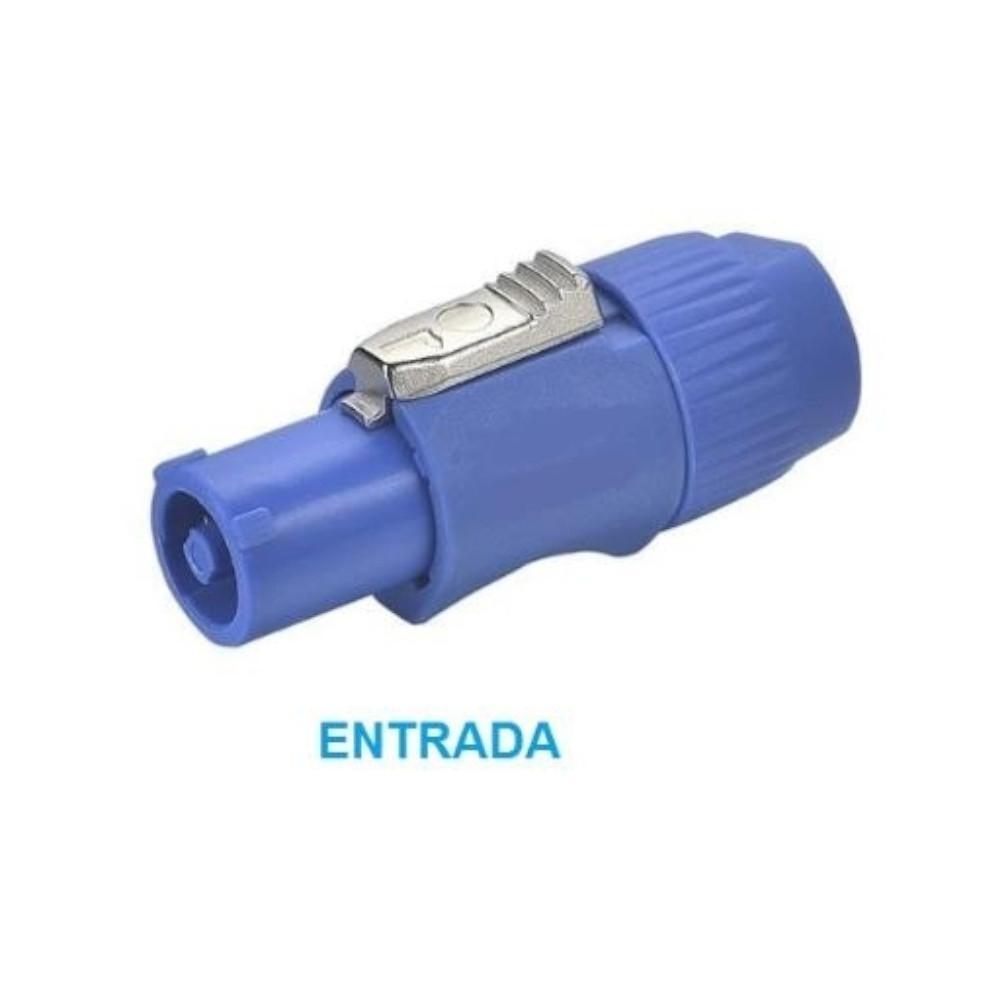 CONECTOR POWERCON MACHO ENTRADA