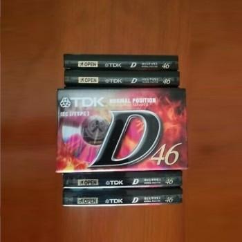 CINTA DE CASSETTE AUDIO TDK D46