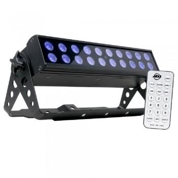 LUZ NEGRA UV LED BAR20 IR
