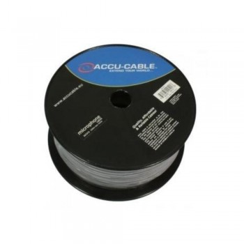 BOBINA CABLE DE MICRO ACCU-CABLE AC-MC/100R-B 100M NEGRO