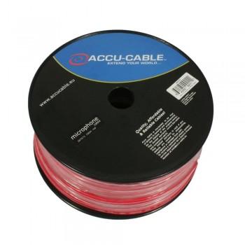 BOBINA  CABLE  DE MICRO ACCU-CABLE AC-MC/100R-R RED 100 M