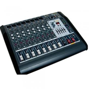 MEZCLADOR AUTOAMPLIFICADO AMS AMP 8400USB