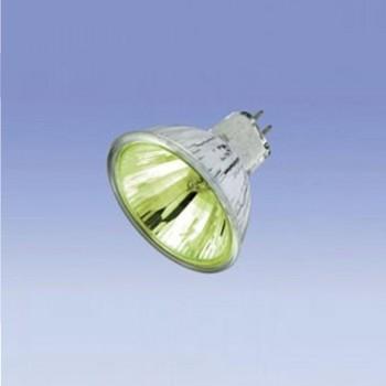 LAMPARA DICROICA AMARILLA 50W/12V