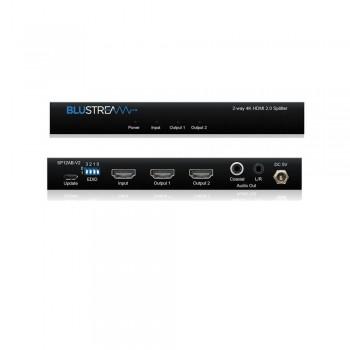 DISTRIBUIDOR DE HDMI 4K 1 ENTRADA A 2 SALIDAS SP12AB-V2
