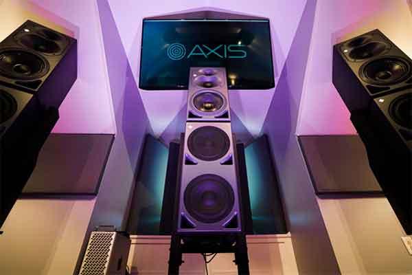 Monitores Neumann para un audio inmersivo en Axis Audio (Nashville).