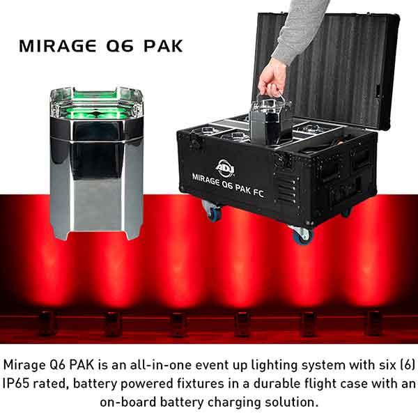 Lighting Mirage Q6 PAK
